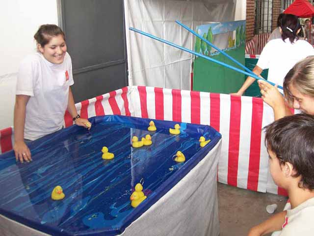 Acciones Recreativas En Eventos Kermesse Pesca Patos Carpas Y